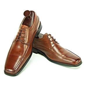 Florsheim Men's Brown Dress Oxford Lace Shoes .